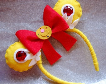 Sailor Moon Inspired Mickey/Minnie Ears