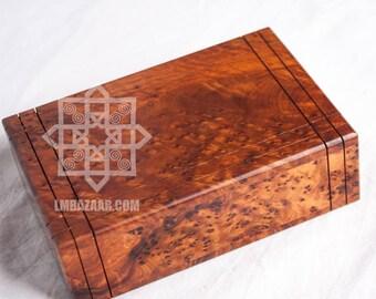 Thuya Mystery Box/Secret Puzzle Box Wood Thuya/Morrocan Thuja Mystery Jewelry Box