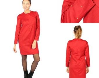 ON SALE MIni dress, wool dress, chic dress, winter dress sales. SIZE 36