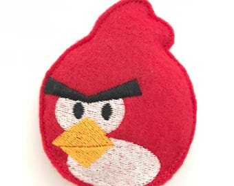 Catnip Toy - Red Angry Bird inspired