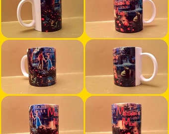 isney princess and the frog tiana personalised mug cup gift musical naveen loui