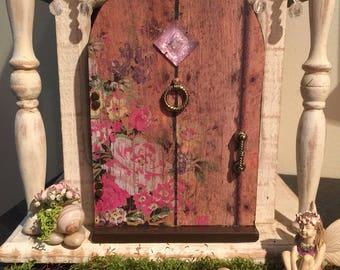 Miniature Fairy Door, Fairy Door, Fairy Garden Door, Rosewood Door Collection, Gnome Door
