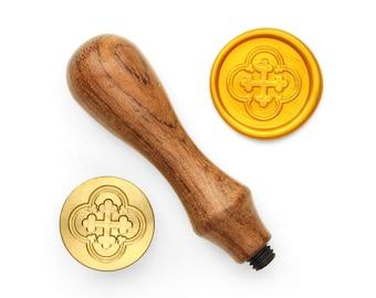Cross Shield - 1 - Design OD Wax Seal Stamp (DODWS0380)