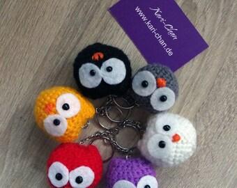 Baby OWL Amigurumi Keyring