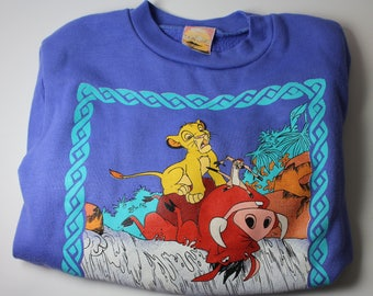 Lion King Kids Sweatshirt Disney Featuring Pumba Timon SEE LISTING 4 SIZE