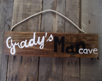 Man Cave sign | Custom man cave sign | Man Cave pallet sign | Personalized man cave sign | Fathers Day Gift | Man cave wall sign