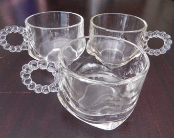 12 Imperial Candlewick Punch Cups