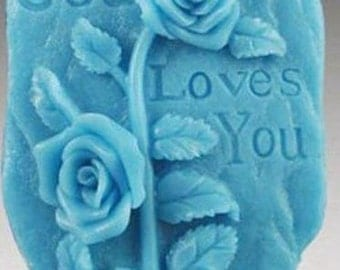 God Loves You Silicone Mould