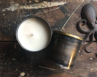 Modern + Moody | Soy Candle | Urban Loft Candle | Man Cave | Gifts for him | Handmade Candle | Fathers Day | Steampunk | Farmhouse Decor
