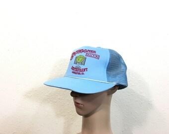 90's schooner restaurant mesh snapback cap color