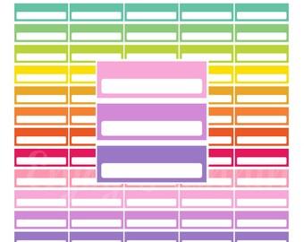 Printable Homework planner stickers Printable stickers | Etsy