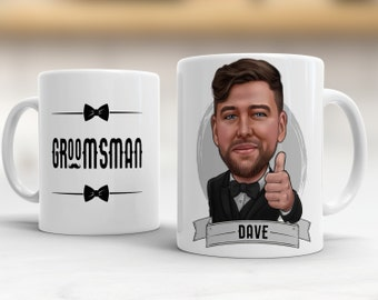 Groomsmen Gift Ideas, Groomsmen Mug, Groomsmen Gift Set, Asking Groomsmen Favor, Be My Groomsman, Ask Groomsman, Groomsmen Proposal