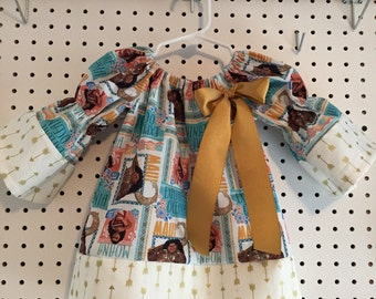 Moana dress size 2T,3T,4T - please indicate the size