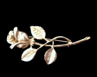 brooch, gold brooch, flower brooch, wedding brooch, wedding jewelry, gold flower, brooch bouqet