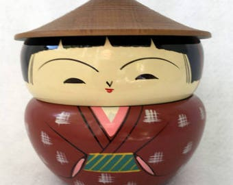 Laqureware Stacking Kokeshi Japanese Bento Box