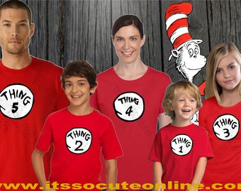 Thing 1 Shirt/Thing 1/Dr Seuss/Dr Seuss Shirt/Dr Seuss Thing 1 and Thing 2/Thing 1 and Thing 2/Thing 1 and Thing 2 Shirt/Thing 2/Thing 3