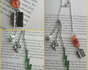 Bookmark jewels theme harry potter