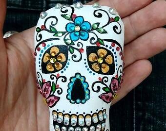 Sugar skull pendant