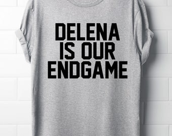 Delena is our endgame, The vampire diaries T-Shirt, Delena, Women's T-Shirt, Tvd,