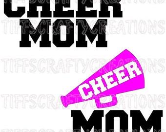 Cheer mom, cheer svg files, cheer mom svg files, cheerleading svg, cheer cricut svg, cheer mom cut file, cheerleader svg, cheer mom svg