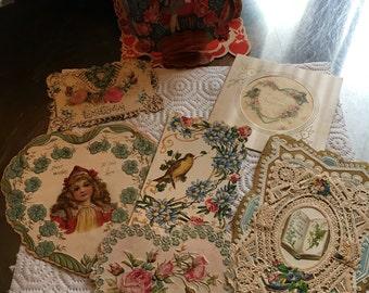 Antique Valentines collection