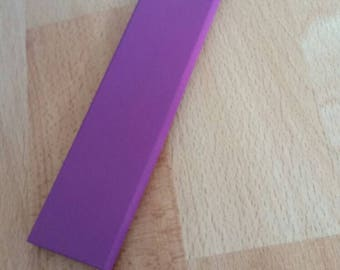 Wooden paddle purple, 50 cm long wrist strap