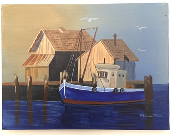 Nautical Painting by Patricia Rider