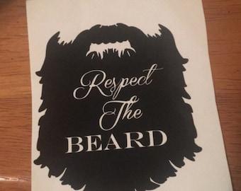 Respect the Beard Decal!
