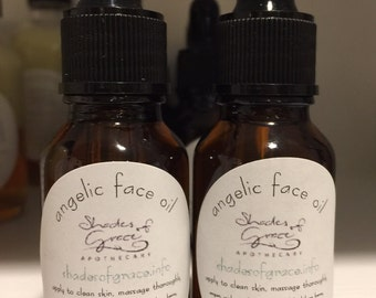 Angelic Face Oil, Shades of Grace