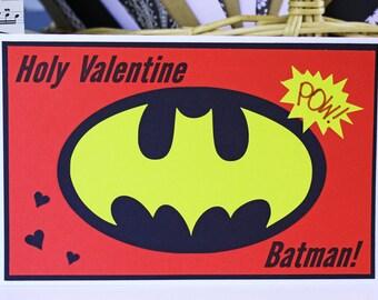 Batman Valentine | Etsy