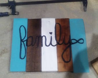 Family Wall Art Sign