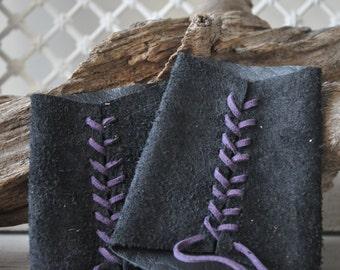 Medieval, Larp, Renaissance faire womens leather bracers