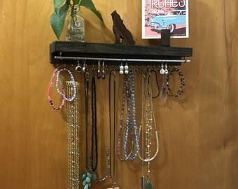 Jewelry Display, Jewelry Rack, Jewelry Organizer, Jewelry Wall Display, Wall Mounted, Earring Display, Bracelet Display, Necklace Display
