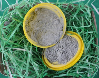 Clay mask with seaweed Green clay mask Ayurvedic facial mask Oily skin mask Clay mask with aloe Dry facial mask Organic face care Vegan face