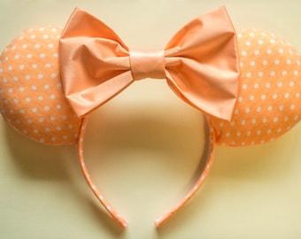 Creamsicle Minnie Ears