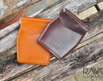 Rawo Leather - signature Money Clipper