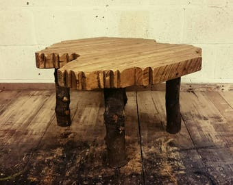Unusual Handmade Reclaimed Wood Table