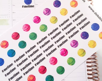 Bath Bombs, sized to fit most planners
