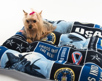 US Air Force dog bed, USAF dog bed, USA Air Force,