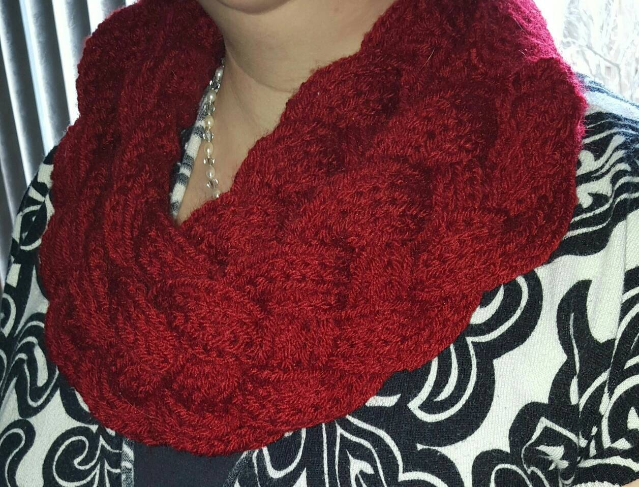 2 layer Double Braided Cowl