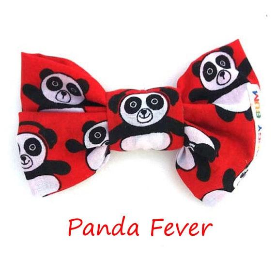 panda bow tie bow tie panda print by