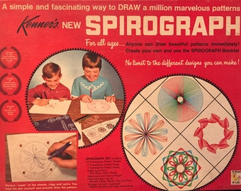 Vintage Kenners Spirograph Pattern Toy 1967
