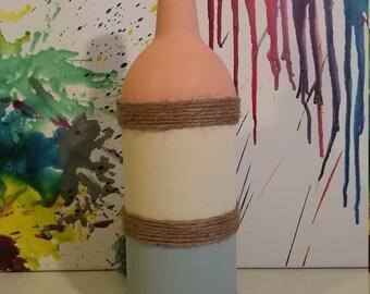 Large Upcycled Wine Bottle