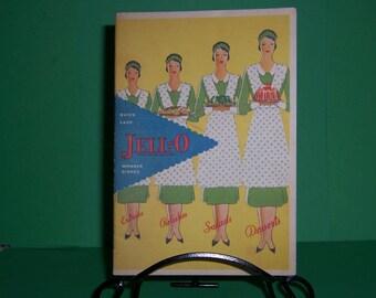 Vintage Jell-O  Recipe Booklet, Pamphlet, Cookbook, 1930's