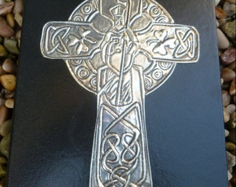 Pewter Coptic Cross Journal