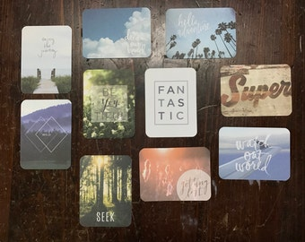 Proyecto vida diario tarjetas