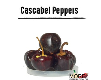 Dried Cascabel Chili Pepper (Chile Cascabel) 4 oz, 8 oz, 12 oz, and 1 lb!!