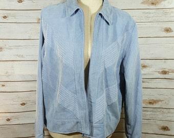 80's Alfred Dunner corduroy jacket, Large