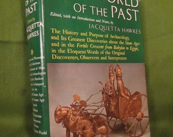 1963 ** The World of the Past ** Jacquetta Hawkes **  sj