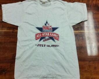Medium 1985 MLB all star game shirt,New, vintage, vtg, screen stars shirt, Minnesota Twins shirt